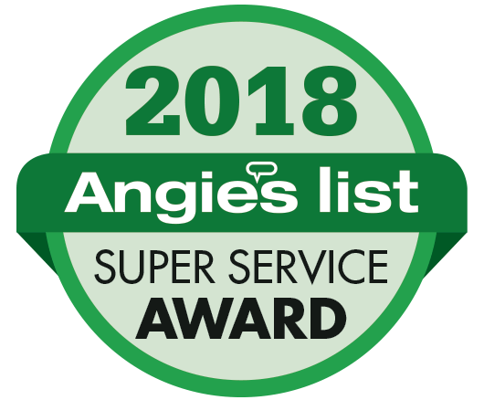 Angies List Super Service ward Winner
