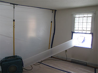 Air duct cleaning and mold remediation in Newton